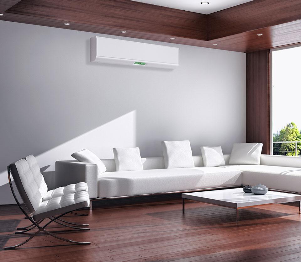 installation de climatisation salon maison