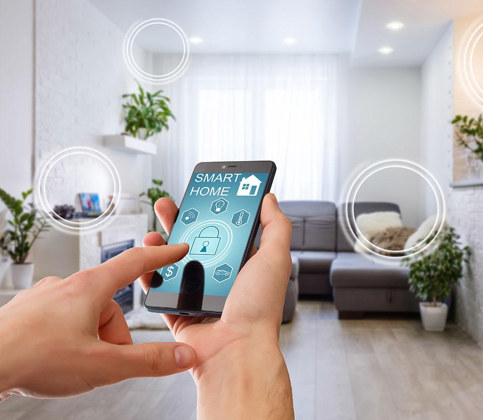 commande de climatiseur thermodynamique depuis un smartphone