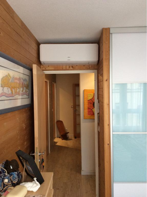 installation climatisation à villeurbanne chambre