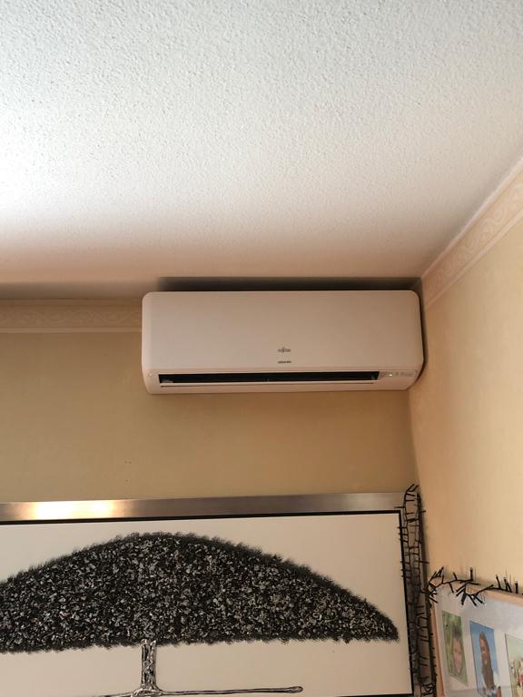 climatiseur mural intérieur installé à caluire par aclimax