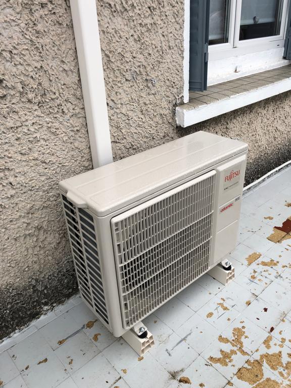 groupe de climatisation extérieur fujitsu atlantic