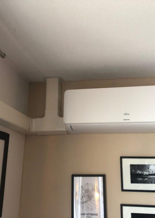 unité intérieure climatiseur salon à villeurbanne